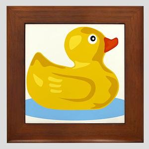 Rubber Duck Framed Tile