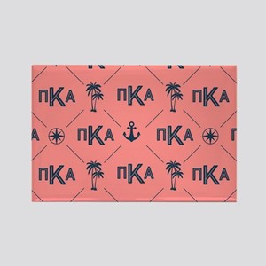 PKA Coral Pattern Rectangle Magnet