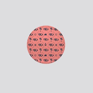 PKA Coral Pattern Mini Button