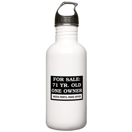 For Sale 71 Year Old Stainless Water Bottle 1.0L
