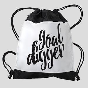 Goal Digger Drawstring Backpack