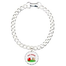 Merry Kittymas Charm Bracelet, One Charm