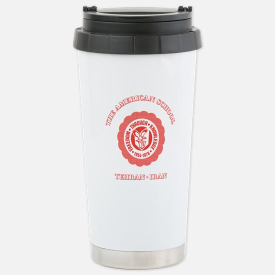 TAS Red Stainless Steel Travel Mug