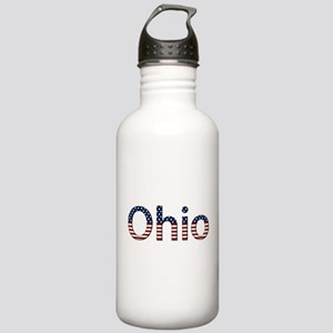 Ohio Stars and Stripes Stainless Water Bottle 1.0L