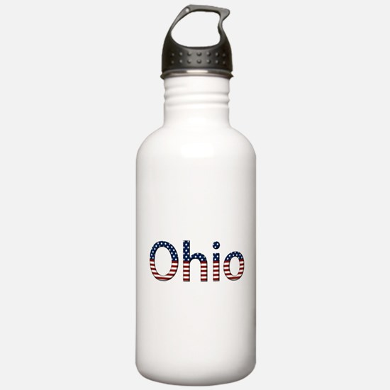 Ohio Stars and Stripes Water Bottle