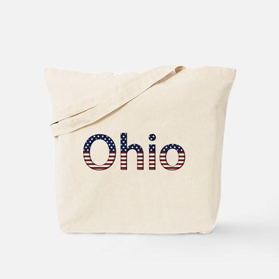 Ohio Stars and Stripes Tote Bag