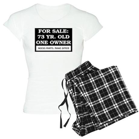 For Sale 73 Year Old Birthday Women's Light Pajama