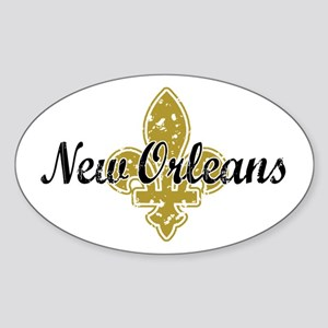 New Orleans Sticker (Oval)