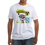 Dexters Laboratory Experiments Fitted T-Shirt