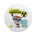 Dexters Laboratory Experiments Ornament (Round)