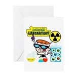 Dexters Laboratory Experiments Greeting Card