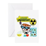 Dexters Laboratory Experiments Greeting Cards (Pk