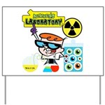 Dexters Laboratory Experiments Yard Sign