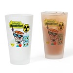 Dexters Laboratory Experiments Drinking Glass