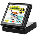 Dexters Laboratory Experiments Keepsake Box