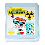Dexters Laboratory Experiments baby blanket