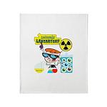 Dexters Laboratory Experiments Throw Blanket
