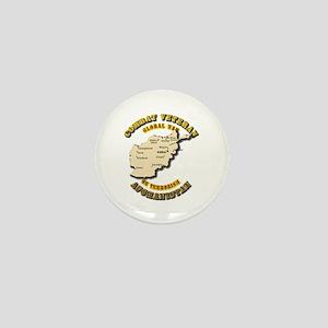 Combat Veteran - Global War Mini Button