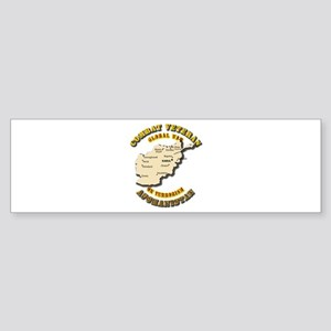 Combat Veteran - Global War Sticker (Bumper)
