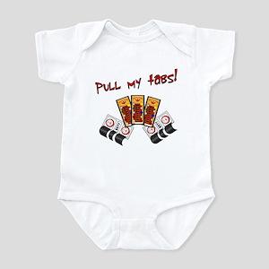Pull my tabs! Infant Bodysuit