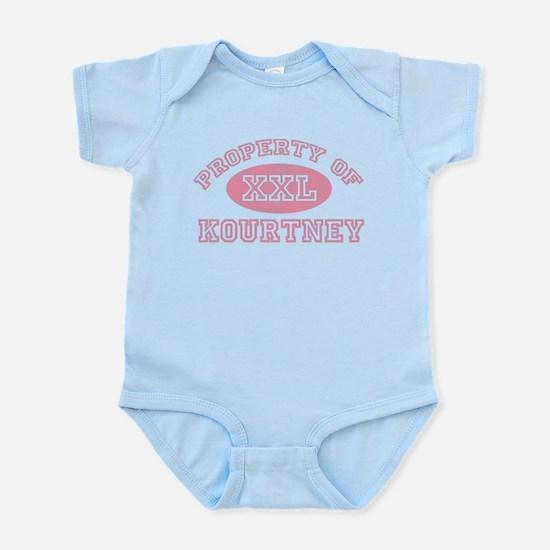 Property of Kourtney Infant Bodysuit