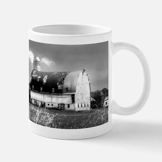 White Barn Mug