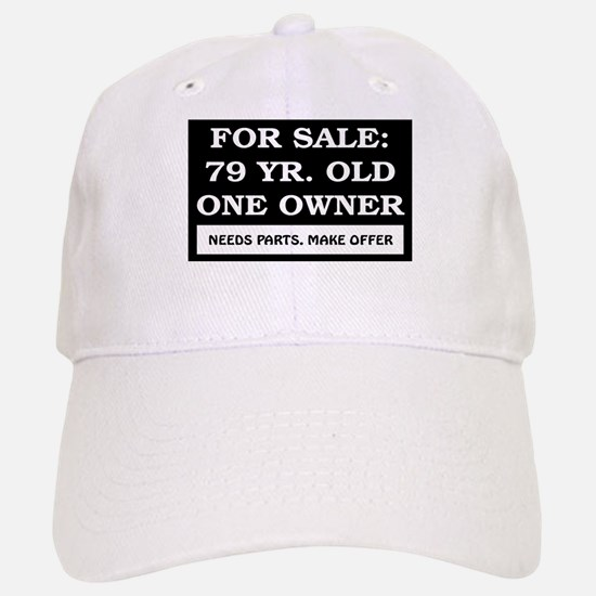 For Sale 79 Year Old Birthday Baseball Baseball Cap