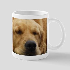 Golden Retriever sleeping Mug