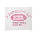 Property of Kiley Throw Blanket