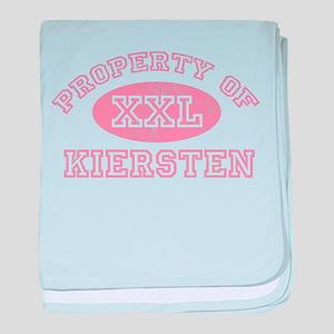 Property of Kiersten baby blanket