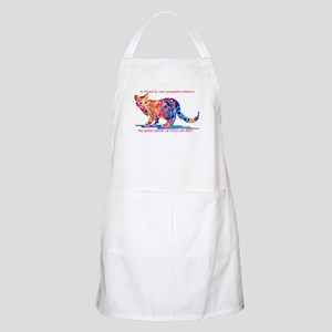 Cats Pitter Patter of Little Feet Apron