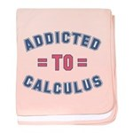 Addicted to Calculus baby blanket