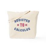 Addicted to Calculus Tote Bag