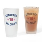 Addicted to Calculus Drinking Glass