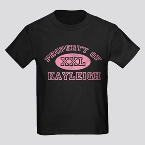 Property of Kayleigh Kids Dark T-Shirt