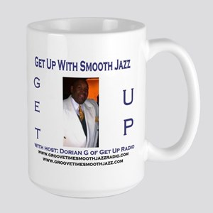 Groove-Time Smooth Jazz Large Mug