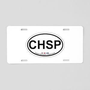 Cape Henlopen DE - Oval Design Aluminum License Pl