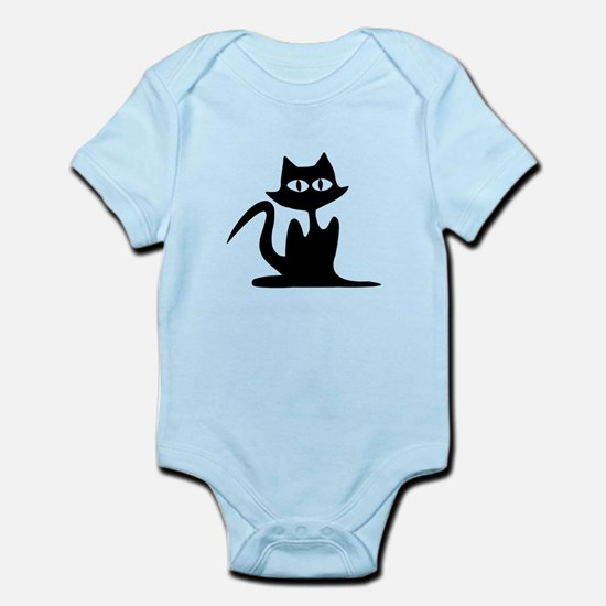 Halloween Cat Infant Bodysuit