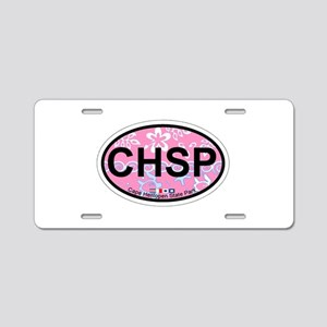 Cape Henlopen DE - Oval Design Aluminum License Pl