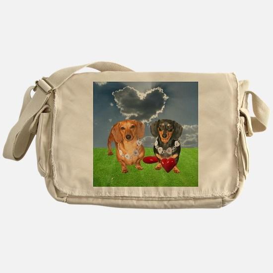 Hearts Messenger Bag