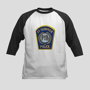Fort Sumner Police Kids Baseball Jersey