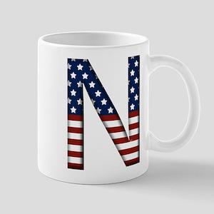 N Stars and Stripes Mug