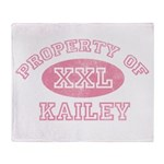 Property of Kailey Throw Blanket