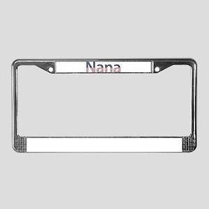 Nana Stars and Stripes License Plate Frame