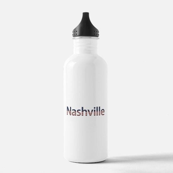 Nashville Stars and Stripes Water Bottle