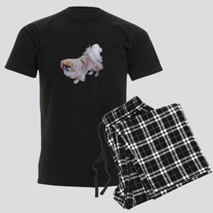 Pekingese Dog Men's Dark Pajamas