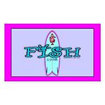 Fish Rectangle Sticker