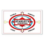 Stanley's World Famous Rectangle Sticker