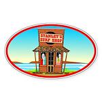 Stanley's Shack Oval Sticker