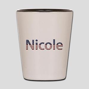 Nicole Stars and Stripes Shot Glass